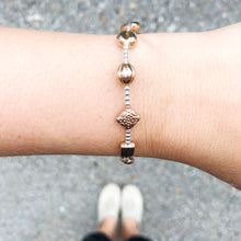 "Load image into Gallery viewer, Miracle ""LUCKY 11"" Rose Gold Bracelet"