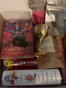 Kali Goddess Oracle gift box