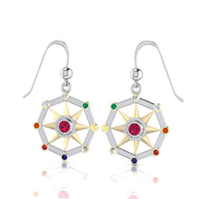 Load image into Gallery viewer, Surya Sun Verdic Energies Earrings