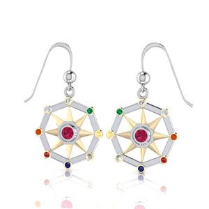 Surya Sun Verdic Energies Earrings