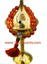 Load image into Gallery viewer, Carnelian Wrist mala with tassel