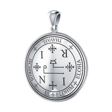 Load image into Gallery viewer, Archangel Thavael Sigil Silver Pendant