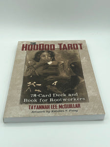 Hoodoo Tarot 78-Card Deck & Book for Rootworkers (Includes White Sage Stick, Conjure Oil and Crystal)