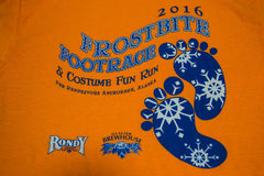 2016 Frostbite Footrace T-Shirt