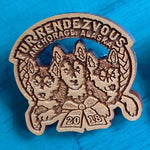 2018 Wooden Pin
