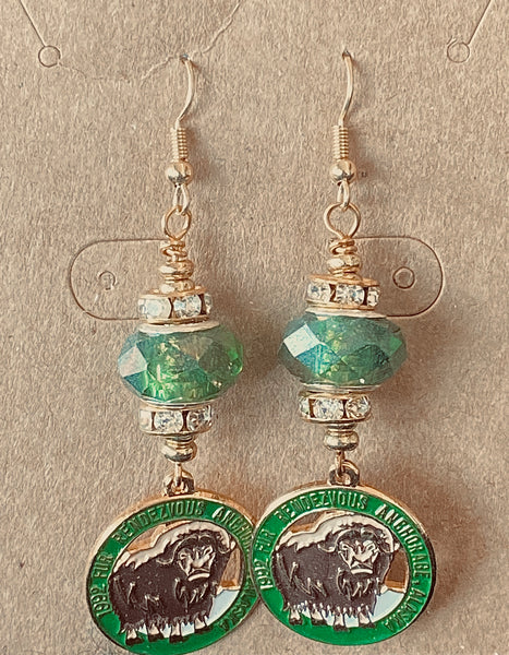 1992 Charm Wire Wrapped Earrings