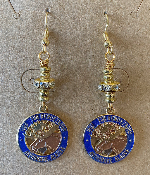 1993 Charm Wire Wrapped Earrings