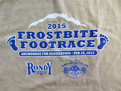 2015 Frostbite Footrace T-Shirt
