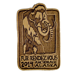 2014 Wooden Pin