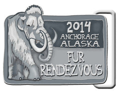 2014 Pewter Belt Buckle
