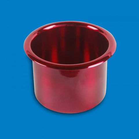 "Cup Holders Spun Aluminum- Medium(3-3/8"")"