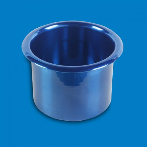 "Cup Holders Spun Aluminum- Small(3"")"