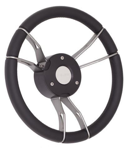 "13-1/2"" Gussi Predator Steering Wheel"