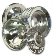 Pulley, Billet Serpentine Pulley Kit