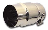 Muffler, Cyclone Series Clamp-On Silencer