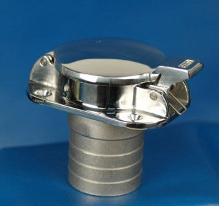 FUEL FILL-Stainless Steel FLIP TOP 2""