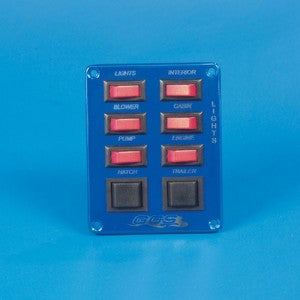 SWITCH PANEL-6 SP,2 DP