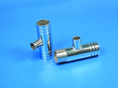 "FITTING, FLUSH TEE-SS 1 1/4"" X 1 1/4"" W 1/2NPT"