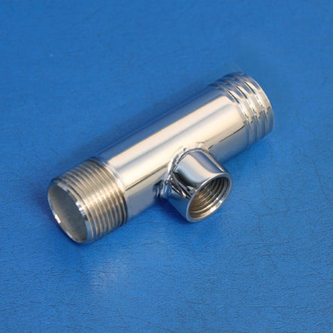 "FITTING, FLUSH TEE-SS 1 1/4"" X 1""NPT W 1/2NPT"