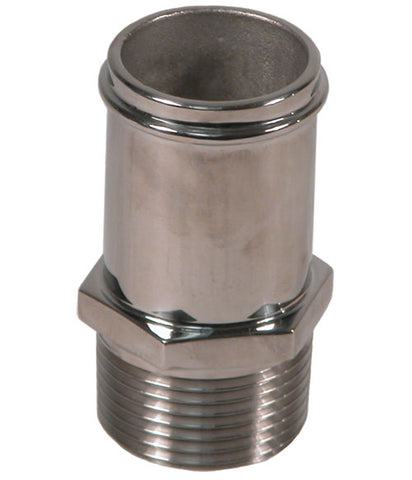 "FITTING-SS 1""NPT X 11/4"" SLIP STR."