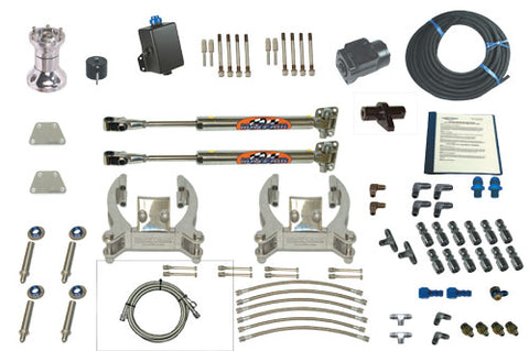 Steering Mayfair Dual Bravo/Dual Ram Full Hydraulic Steering Kit