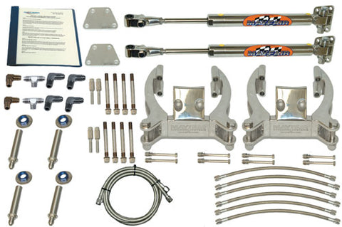 Steering Mayfair Dual Bravo/Dual Ram Add-On Hydraulic Steering Kit