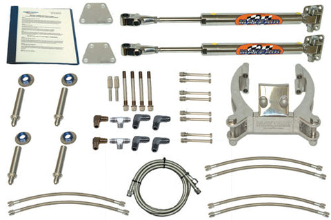 Steering Mayfair Single Bravo/Dual Ram Add-On Hydraulic Steering Kit