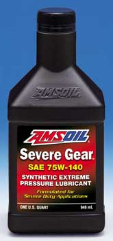 AMSOIL Severe Gear Synthetic 75W-140