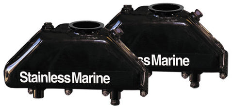 Stainless Marine Hi-Torque Replacement Big Block Manifolds Only (pair)