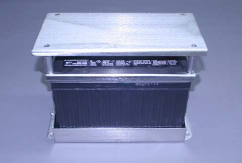 Battery Box - Self-Contained Stainless Battery Box with Cover/Step Plate Steel Group #24/27/30/31