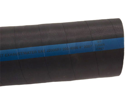 "Exhaust Hose Marine Grade Soft Wall  4"".5 & 5"""
