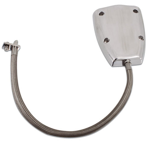 "Stainless Steel ""Sport Tech"" Outdrive Cooling Shower"