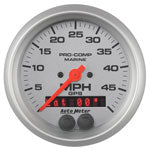 AutoMeter Platinum GPS Multi Function Speedometer Gauge Only 3-3/8""