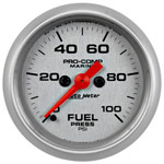 AutoMeter Platinum 0-100 PSI Fuel Pressure Gauge