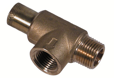 "Sea Strainer, Adjustable  Water Pressure Relief Valve 3/4"" NPT"