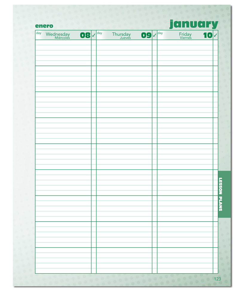 2020/2021 Standard Large Format Teacher Planner