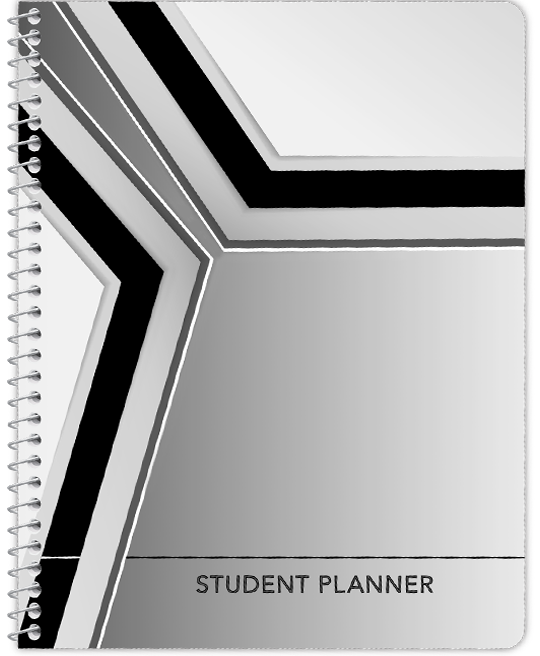 Undated Middle School Planner