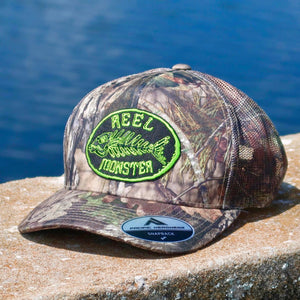 Reel Monster Camo Mesh Back Hat RMLG-15