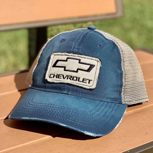 Redneck Nation© Distressed Chevy Hat TH-18