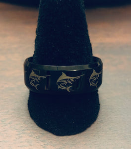 Sailfish Ring MMR-18  *Available in Women's and Men's Sizes*