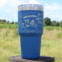 **NEW** Reel Monster Gear 20oz or 30oz Tumbler MMT-68