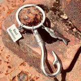 Reel Monster Stainless Steel Keychain MMK-4