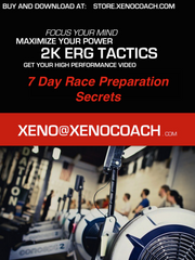Xeno's Guide To Erg Test Prep. - Private Elite Coaching, rowing, Xeno Müller, Elite Rowing Coach