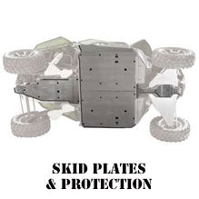 RZR XP 800 4 Seater Skid Plates & Protection