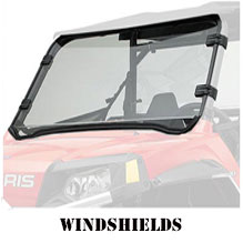 RZR XP 900: Windshields