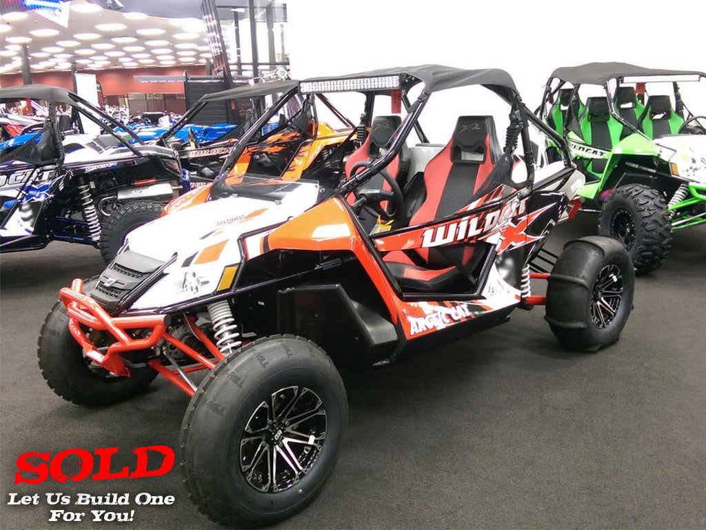 2015 ARCTIC CAT WILDCAT 4X FOR SALE