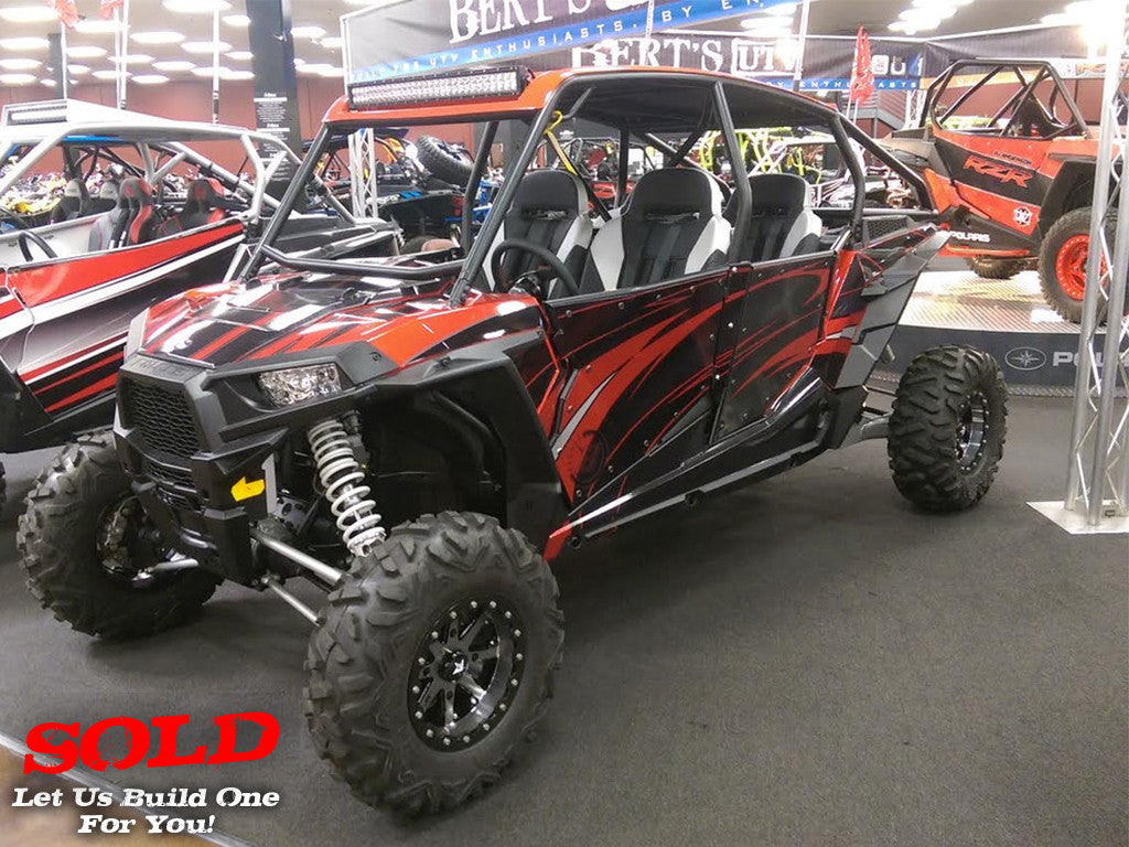 "2015 RZR XP 4 1000 ""Red Titanium 7"""