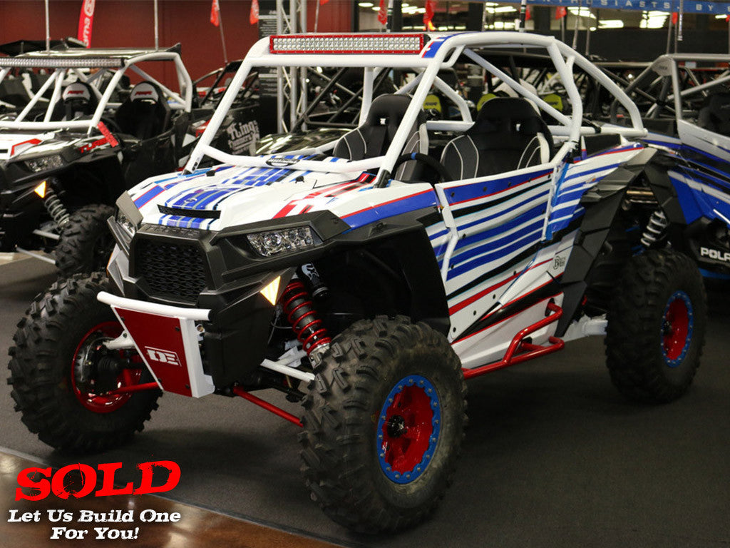 "2016 RZR XP TURBO ""Murica"""