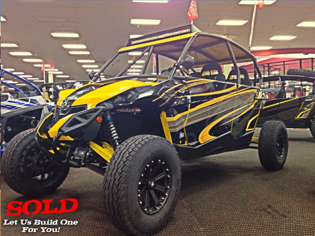 "2014 Can-Am Maverick Max ""Scorpion"""