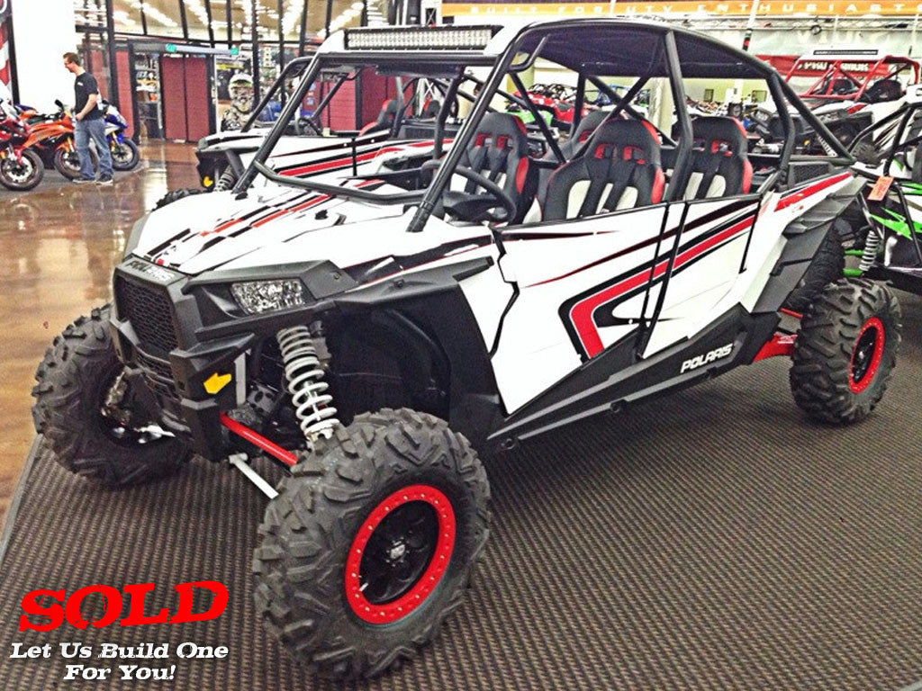 "2014 RZR XP 4 1000 ""Hot Rod Crew"""